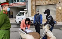 Hà Nội xử phạt hàng trăm người không đeo khẩu trang và phòng dịch Covid-19