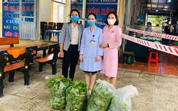 Thanh Hóa: Hỗ trợ gần 100 kg rau, củ cho bệnh viện phòng chống dịch Covid-19
