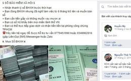 Lập Facebook mạo danh cơ quan BHXH để gom sổ bảo hiểm của công nhân