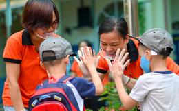 Hà Nội: Gần 1.900 học sinh mầm non, tiểu học háo hức quay lại trường sau dịch Covid-19