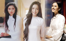 Vẻ đẹp tinh khôi gây thương nhớ của tà áo dài trắng