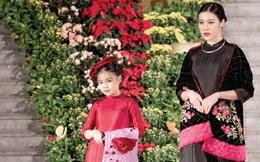 Nghệ nhân Lan Hương: Áo dài gợi nhớ y phục cung đình xưa
