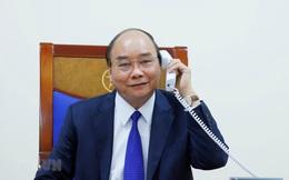 Thủ tướng Nguyễn Xuân Phúc điện đàm với Tổng thống Mỹ Donald Trump về chống dịch Covid-19
