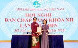 Đồng chí Hà Thị Nga được bầu làm Chủ tịch Hội Liên hiệp Phụ nữ Việt Nam