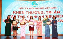 Hội LHPN Việt Nam khen thưởng các tập thể, cá nhân đóng góp tích cực trong phòng, chống Covid-19