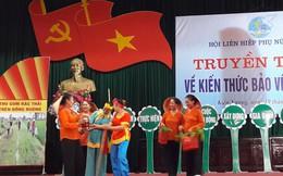 Thái Bình hiện có 1.655 tổ thu gom rác thải do phụ nữ đảm nhiệm