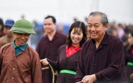 Phó Thủ tướng Thường trực xuống đồng cày Tịch điền
