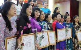 Vinh danh 24 tập thể, 144 cá nhân nữ trí thức Việt Nam tiêu biểu