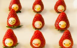 Sáng tạo búp bê trái cây ngộ nghĩnh làm quà tặng bé dịp Quốc tế thiếu nhi