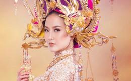 Váy áo rực rỡ giúp mỹ nhân Việt chinh phục thế giới