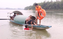 Tìm thấy thi thể cuối cùng trong vụ 3 học sinh đuối nước trên sông Lam
