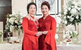 'Bí kíp' chọn áo dài cho 2 bà sui trong lễ cưới
