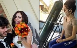 Nữ diễn viên dị ứng chồng sau tai nạn rò rỉ khí gas