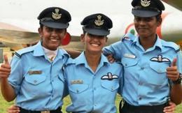 Ba bóng hồng lái máy bay chiến đấu đầu tiên của Ấn Độ