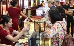 Thương hiệu vàng Rồng Thăng Long giảm 100.000 đồng/lượng