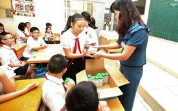 Sữa học đường từ trang trại - nhà máy đến trường học