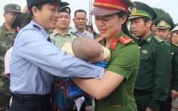 Tiếp nhận bé trai 4 tháng tuổi bị bán sang Trung Quốc
