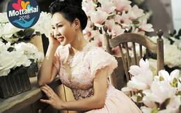 Sao Mai Khánh Ly ủng hộ Mottainai 2018 đầm dạ hội để đấu giá gây quỹ