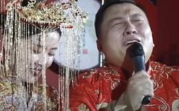Chú rể khóc nức nở trong ngày cưới vì lấy được vợ sau 7 lần làm phù rể