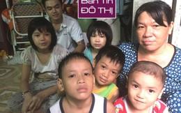 Mẹ đơn thân ở trọ, bán vé số nuôi 11 con thơ