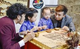 Nghệ sĩ, MC chung tay làm tranh gạo gây quỹ Mottainai
