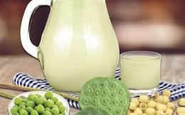 Sữa hạt sen ngát thơm hương đồng nội