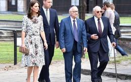 Vợ chồng Hoàng tử Anh William thăm trại tập trung thời phát xít Đức
