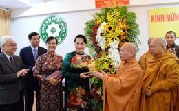 Chủ tịch Quốc hội Nguyễn Thị Kim Ngân chúc mừng lễ Phật đản tại TPHCM