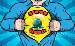 Trẻ em sáng tác nhân vật siêu anh hùng giải cứu trái đất