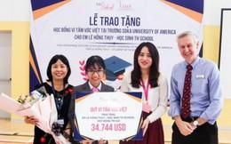 Học bổng 34 ngàn USD chắp cánh ước mơ du học Mỹ của nữ sinh tài năng