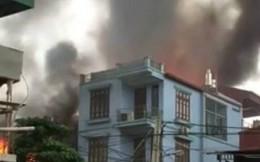 Hỏa hoạn thiêu rụi xưởng nội thất trong 10 phút