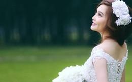 Bỏ qua hạn chế hình thể, tôi tự tin trong chiếc váy cưới tinh khôi