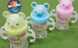 Bình cho bé tập uống nước có tay cầm và ống hút