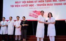 Gần 500 nhân viên y tế đăng ký hiến mô tạng