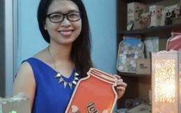 Nữ 9X khởi nghiệp với đồ lưu niệm bằng gỗ