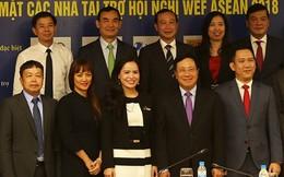 Doanh nghiệp đồng hành cùng Chính phủ tổ chức WEF ASEAN 2018