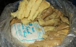 Hà Nam: Hơn 1 tạ măng tươi chứa trong thùng phuy hóa chất
