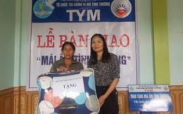 Trao 'Mái ấm tình thương' cho hội viên phụ nữ nghèo