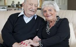 Hạnh phúc viên mãn của cặp vợ chồng kết hôn bền lâu nhất nước Anh
