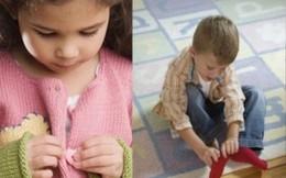 Giúp trẻ nhỏ hình thành tính tự lập