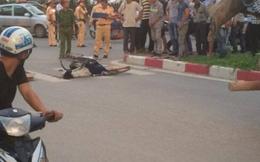 Hà Nội: Cô gái đi xe đạp tử vong dưới gầm xe bồn