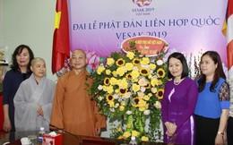 Lãnh đạo TƯ Hội LHPNVN thăm, chúc mừng lễ Phật đản 2019 Giáo hội Phật giáo Việt Nam