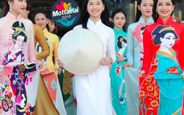 NTK Nhật Dũng tặng áo dài công nghệ 4.0 bán đấu giá tại Mottainai TPHCM