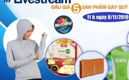 Đón xem livestream đấu giá 5 sản phẩm hấp dẫn gây quỹ Mottainai vào 11h00 ngày 8/11