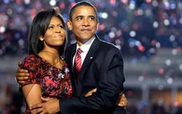 Tiếng yêu ngọt ngào sau 1/4 thế kỷ chung sống của vợ chồng ông Obama