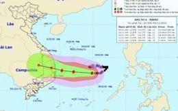 Bão số 6: Có thể gây ngập lụt diện rộng khu vực miền Trung