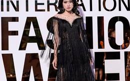 Á khôi Miss Photo Thạch Thảo diện mốt tua rua đi xem thời trang