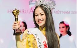 Giọng ca Sao Mai đoạt vương miện Hoa hậu Áo dài Việt Nam 2019