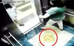 2 người phụ nữ biến thang máy thành nơi tiểu bậy: Quá ghê sợ!