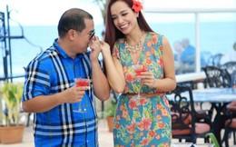 Minh Khang 'nịnh' vợ trước thềm năm mới